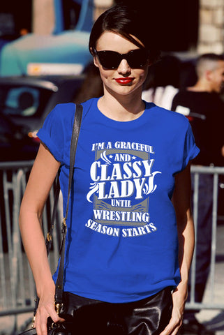 FunkyShirty Classy Lady (Women)  Creative Design - FunkyShirty