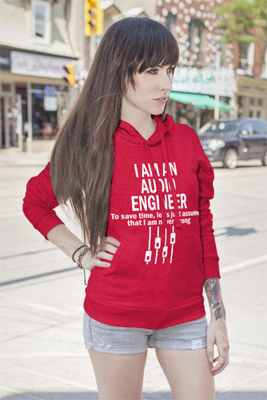FunkyShirty I am an Audio Englineer (Women)  Creative Design - FunkyShirty