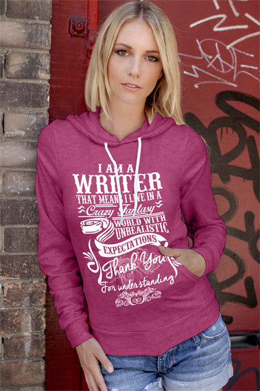 FunkyShirty I Am A Writer (Women)  Creative Design - FunkyShirty