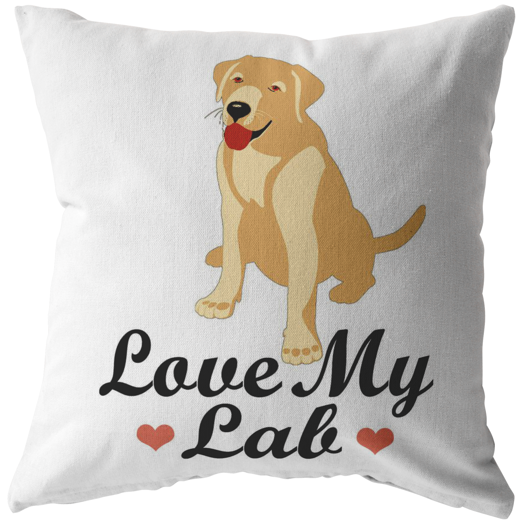 Love My Labrador - Pillow