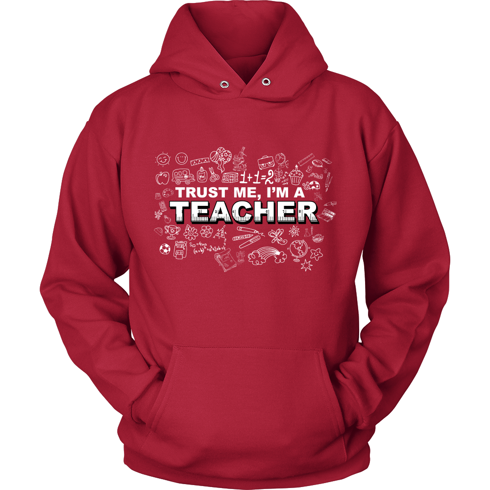 FunkyShirty Trust me Im a Teacher (Men)  Creative Design - FunkyShirty