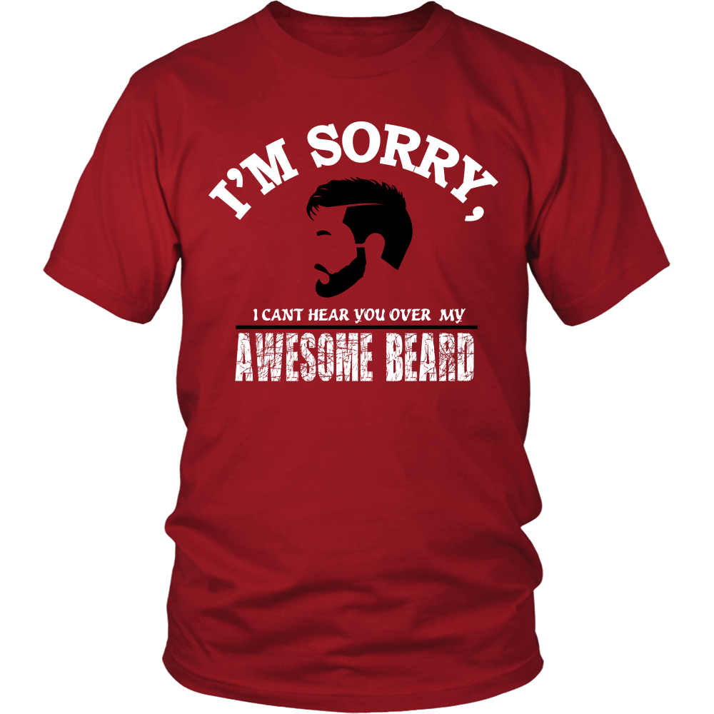 FunkyShirty Awesome Beard  Creative Design - FunkyShirty