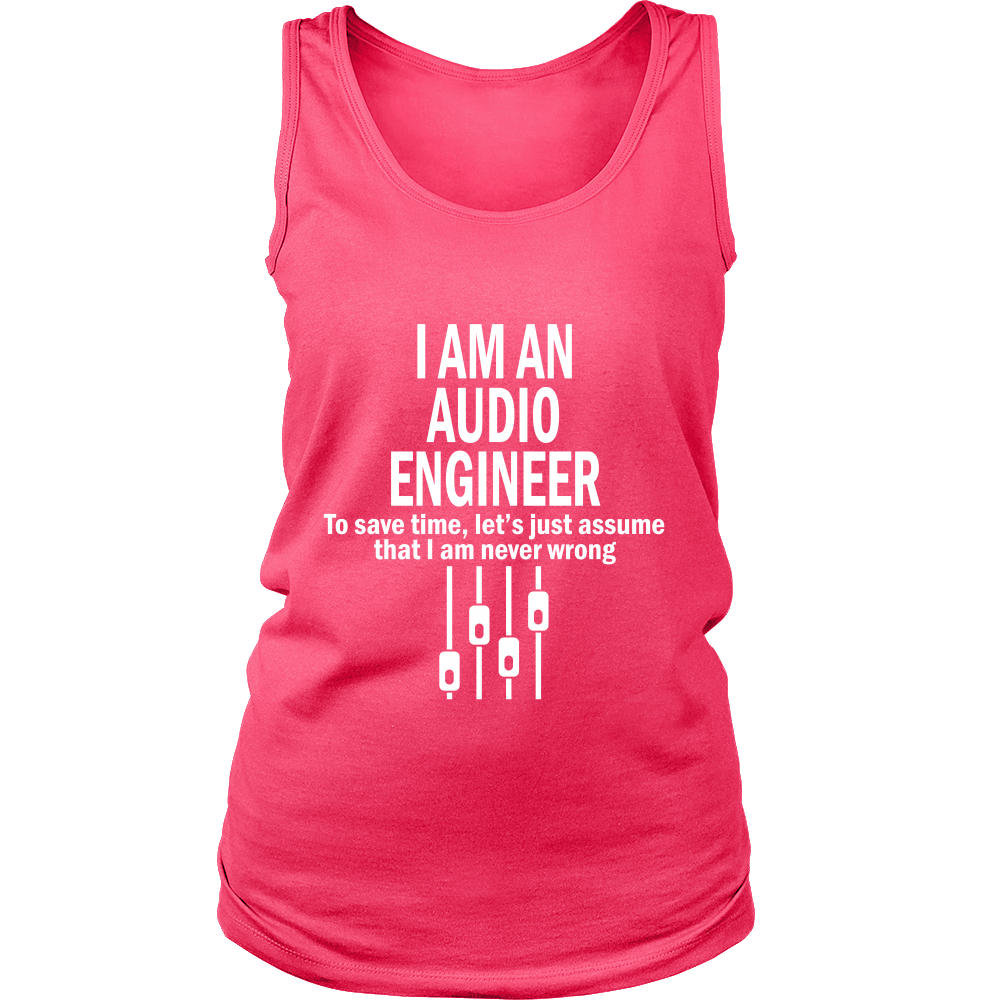 I am an Audio Englineer (Women)