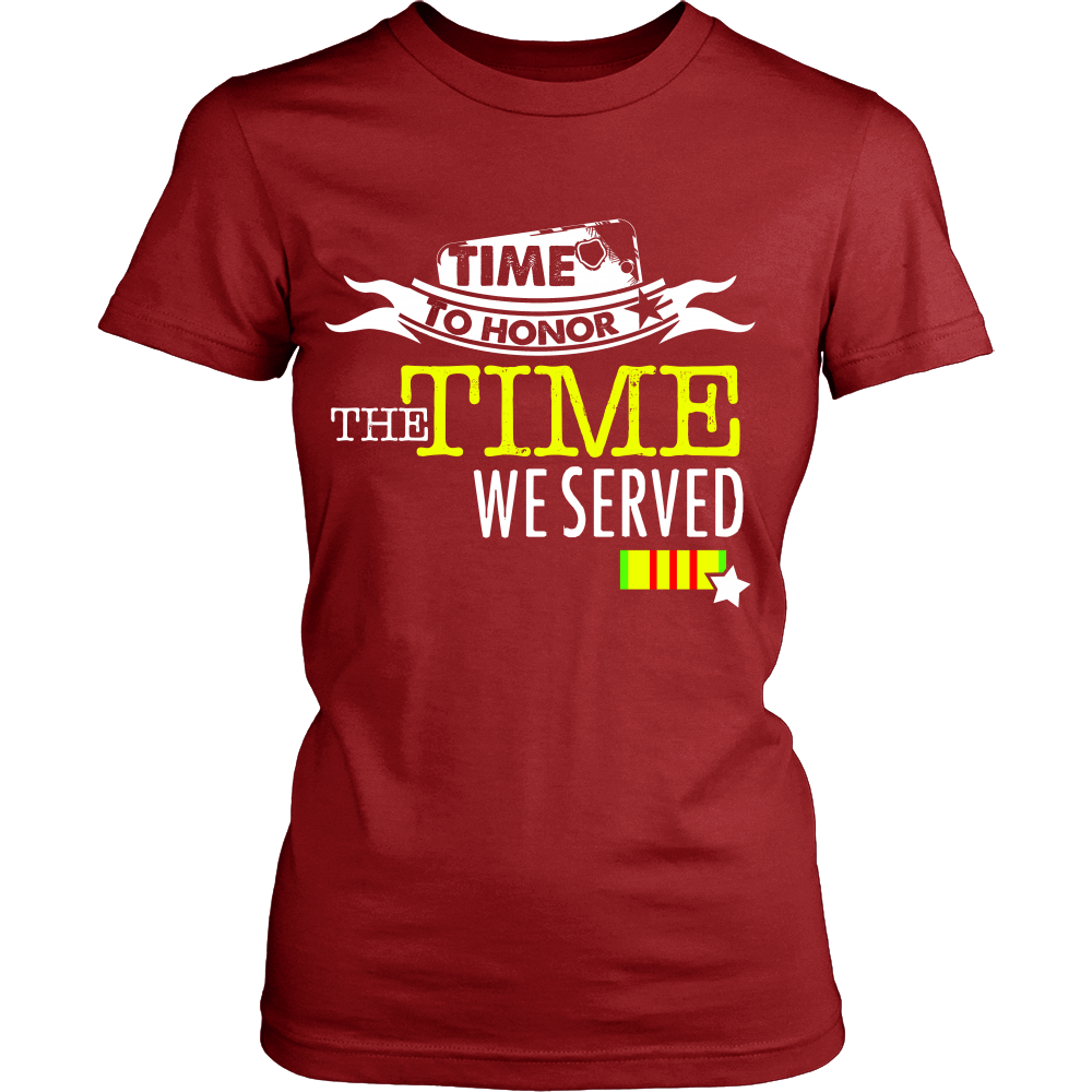 Time to Honor the Time we Served (Women)