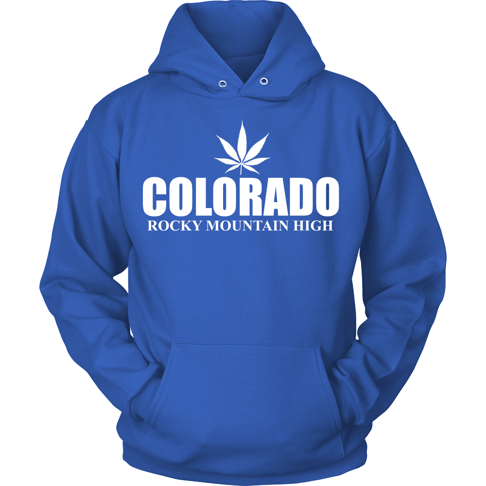 FunkyShirty Colorado Rocky Mountain High (Men)  Creative Design - FunkyShirty