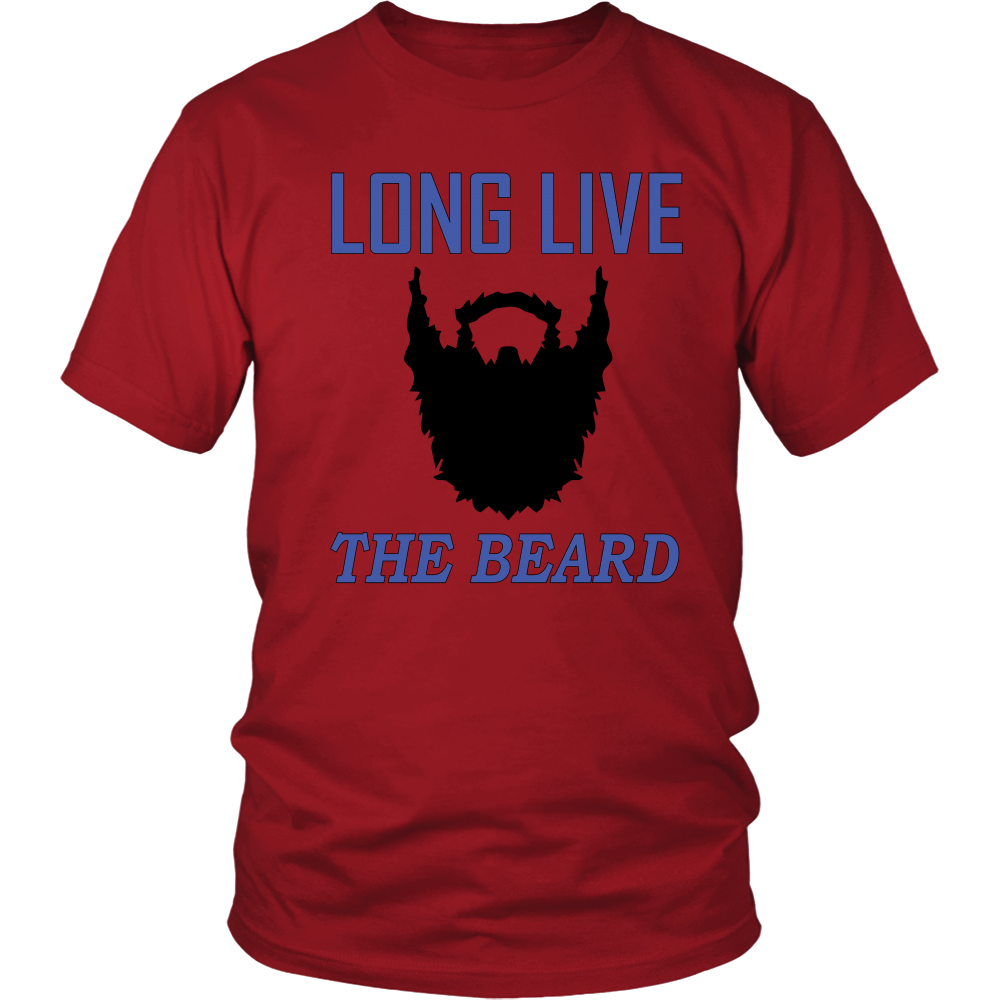 FunkyShirty Long Live The Beard  Creative Design - FunkyShirty