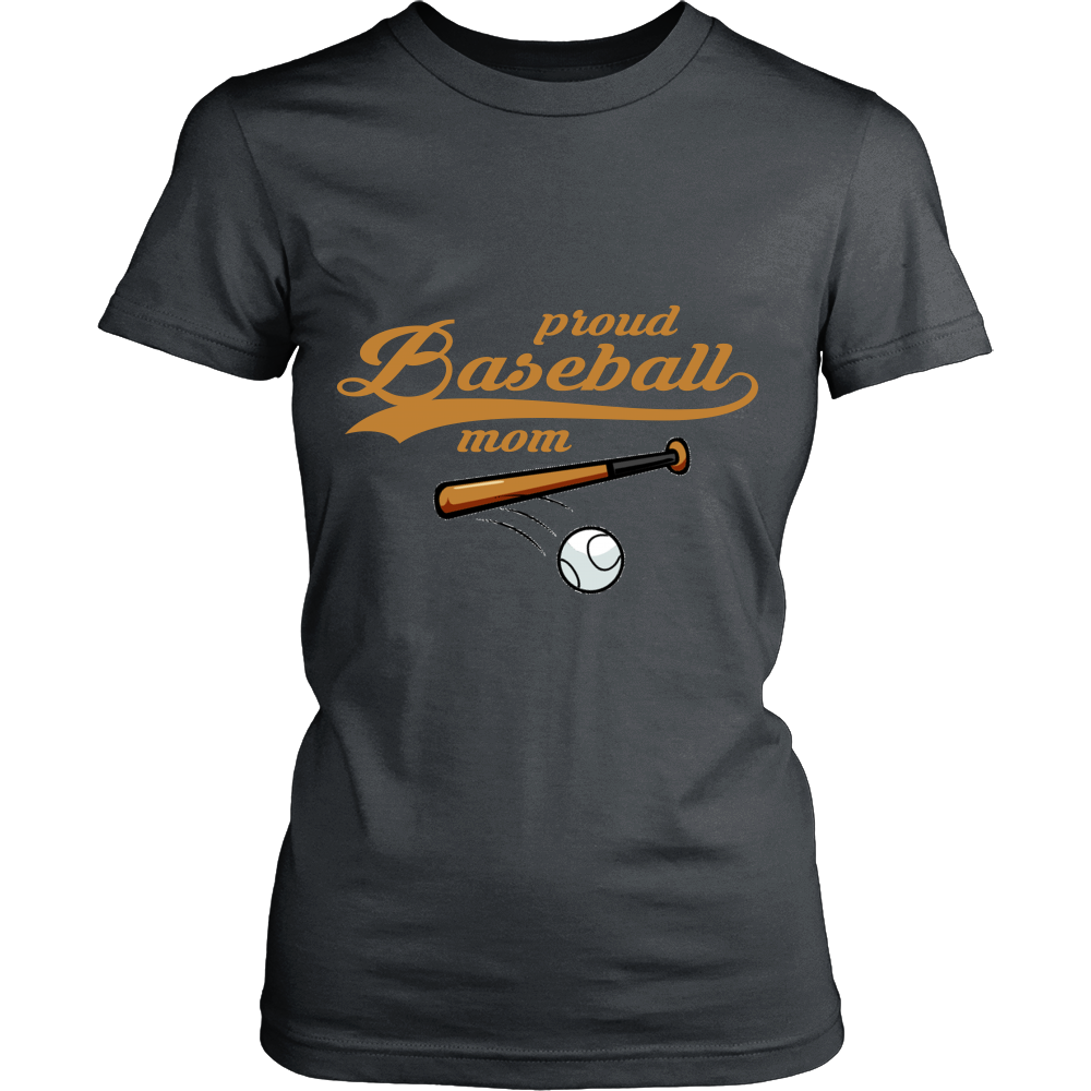 FunkyShirty Proud Baseball Mom 5  Creative Design - FunkyShirty