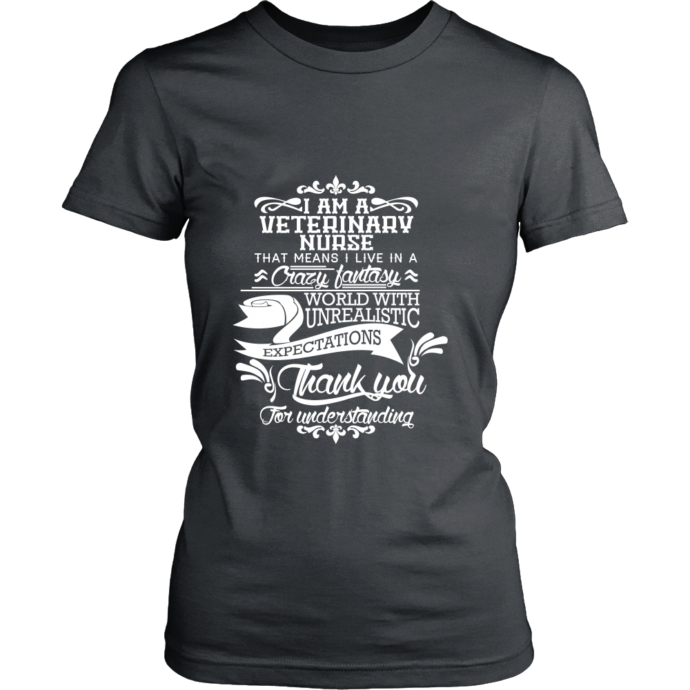 FunkyShirty Veterinary Nurse (Women)  Creative Design - FunkyShirty