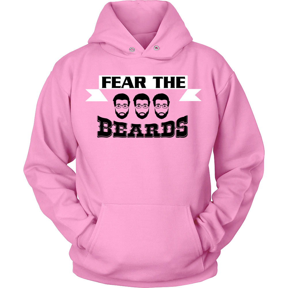 FunkyShirty Fear The Beards  Creative Design - FunkyShirty