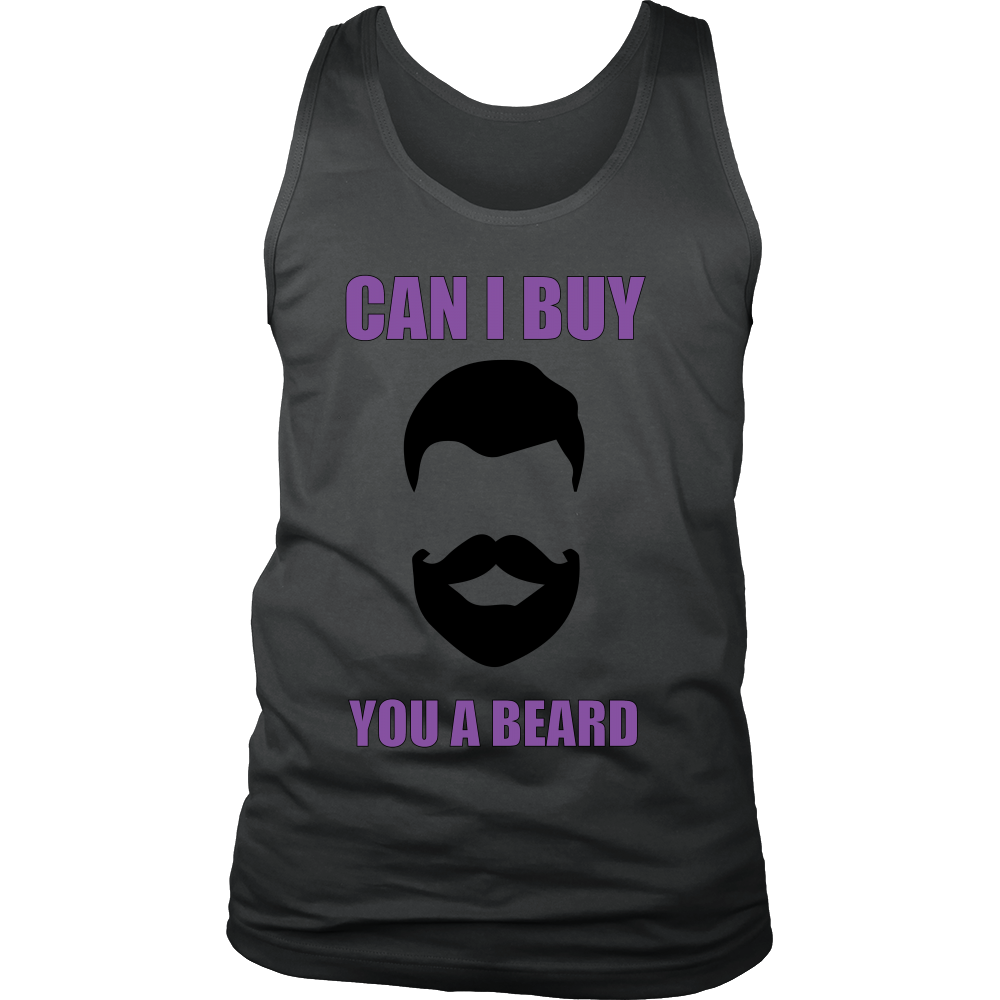 FunkyShirty Can I Buy You a Beard  Creative Design - FunkyShirty