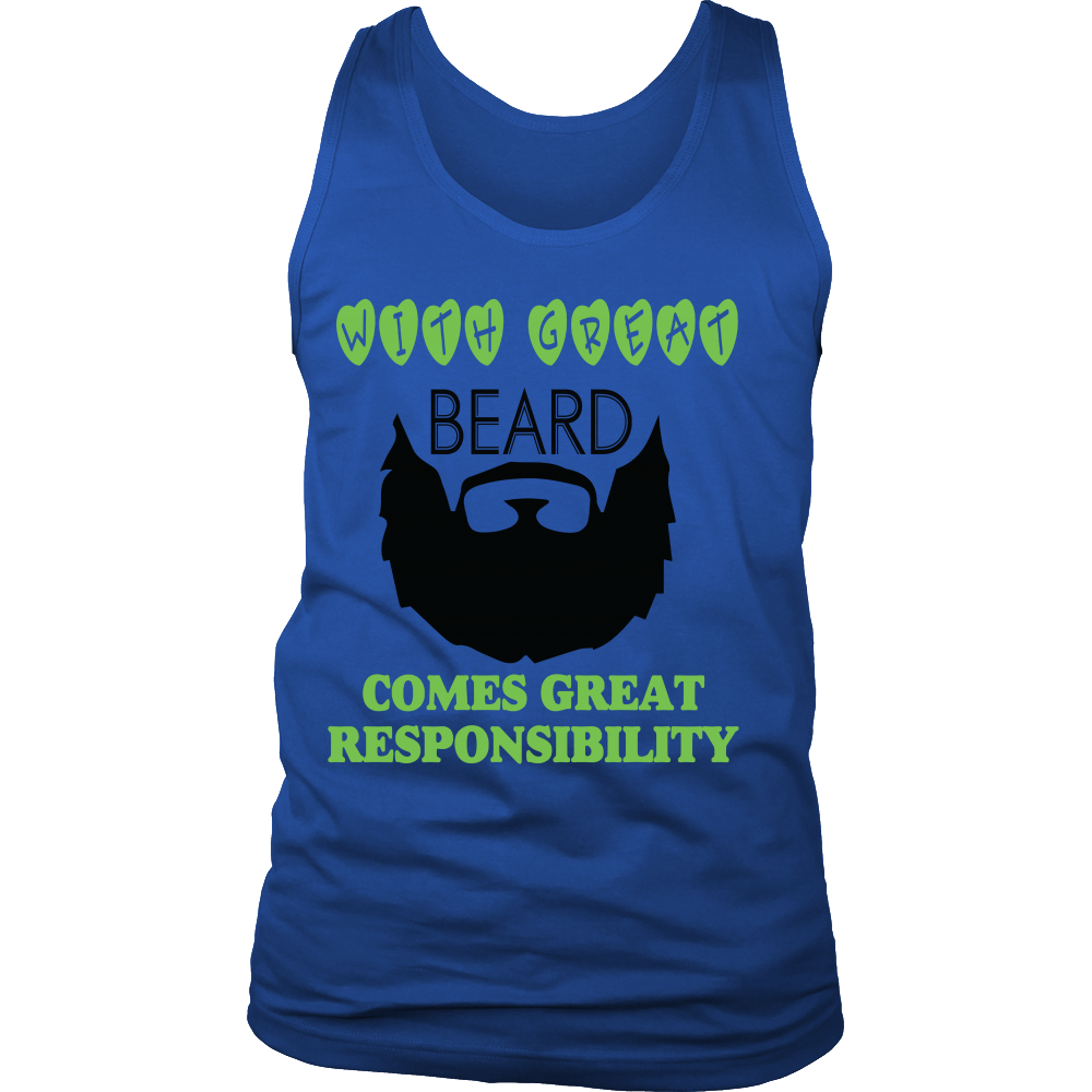 FunkyShirty With Great Beard Comes Great Rsponsibility 2  Creative Design - FunkyShirty