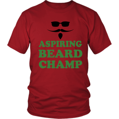 FunkyShirty Aspiring Beard Champ  Creative Design - FunkyShirty