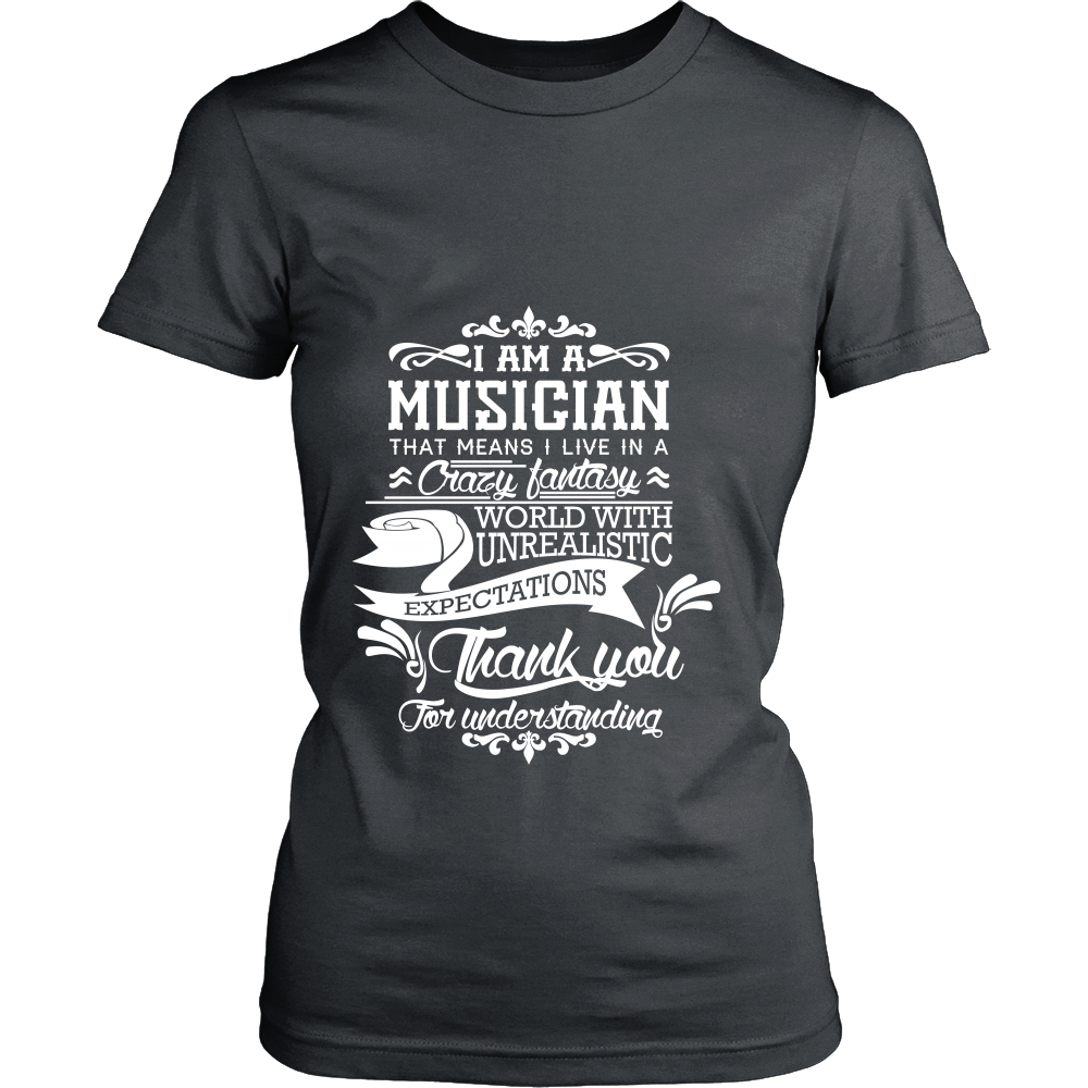 FunkyShirty Musician (Women)  Creative Design - FunkyShirty