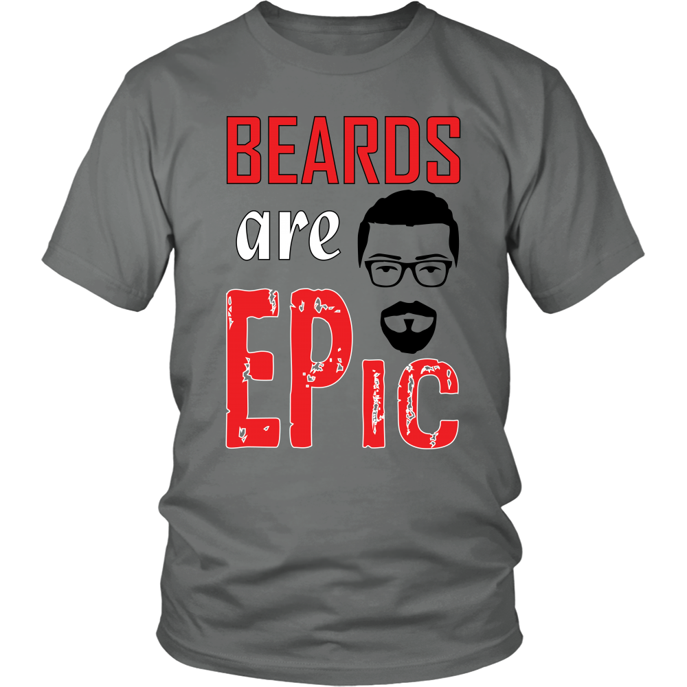 FunkyShirty Beards are Epic  Creative Design - FunkyShirty