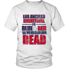FunkyShirty LOS ANGELES BASKETBALL (MEN)  Creative Design - FunkyShirty