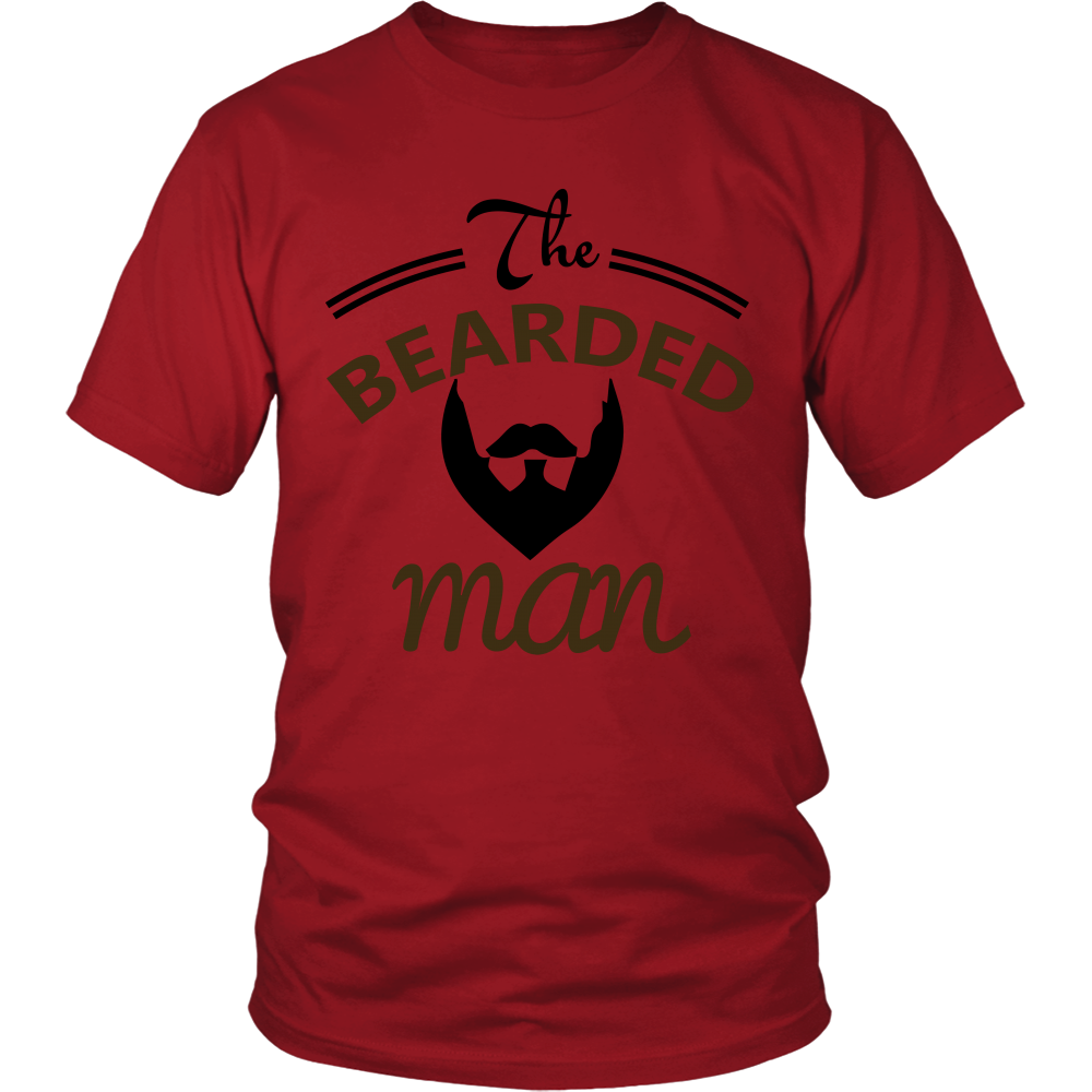 FunkyShirty The Bearded Man  Creative Design - FunkyShirty