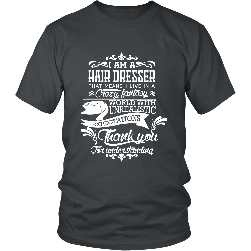 FunkyShirty Hair Dresser (Men)  Creative Design - FunkyShirty