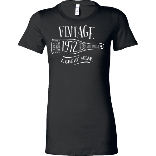 FunkyShirty Vintage 1972 (Womens)  Vintage 1970s - FunkyShirty
