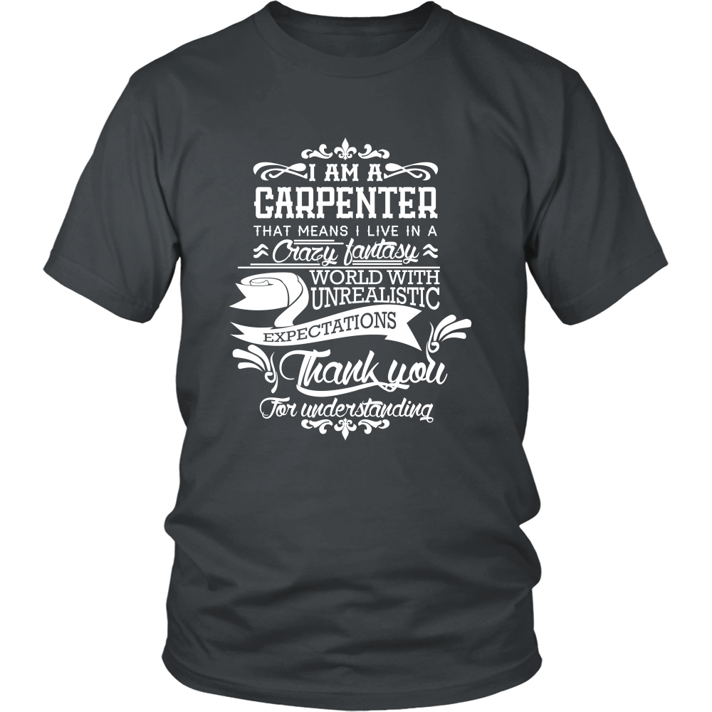 FunkyShirty Carpenter (Men)  Creative Design - FunkyShirty