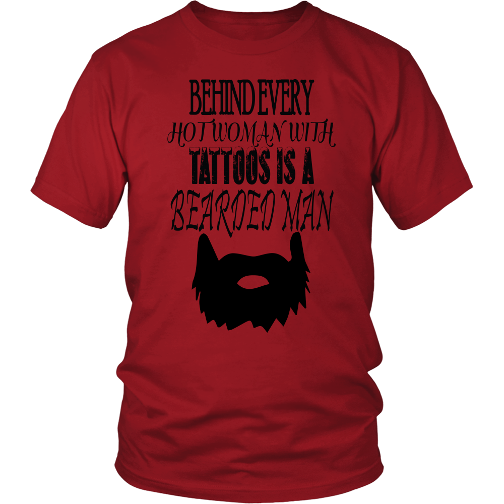 Tattoos is a Bearded Man