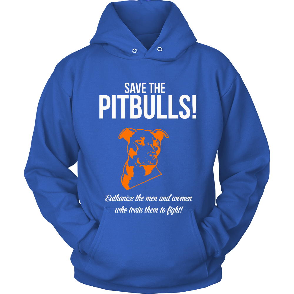 Save the Pitbulls Euthanize the Men and Women who Train Them to Fight (Men)
