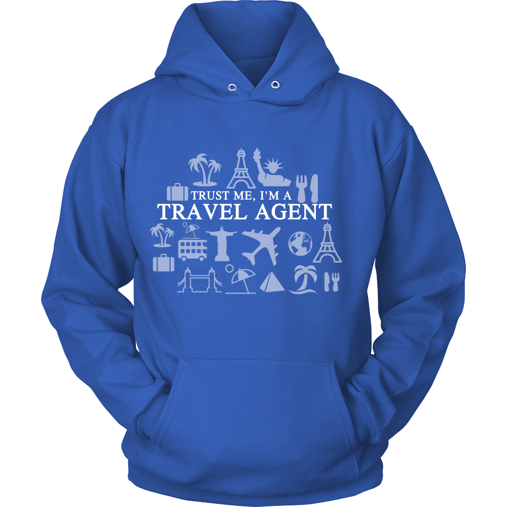 FunkyShirty Trust me I'm a Travel Agent (Women)  Creative Design - FunkyShirty