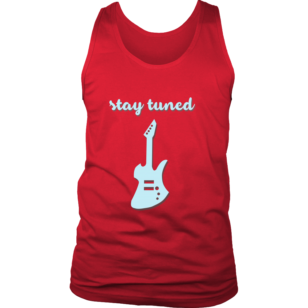 FunkyShirty Stay Tuned (Men)  Creative Design - FunkyShirty