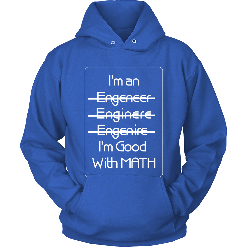 FunkyShirty I'm an I'm good with Math (Women)  Creative Design - FunkyShirty