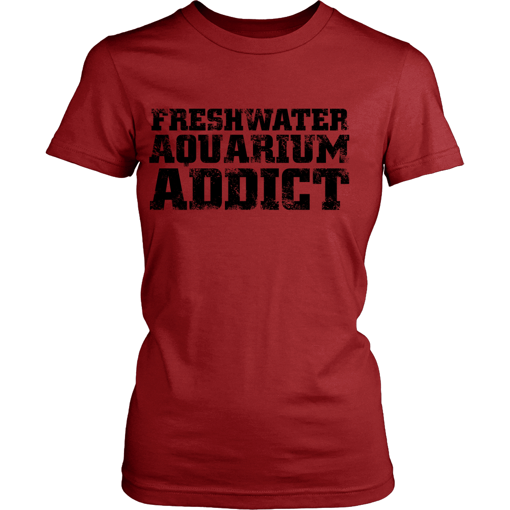 FunkyShirty Aquarium Addict  (Women)  Creative Design - FunkyShirty