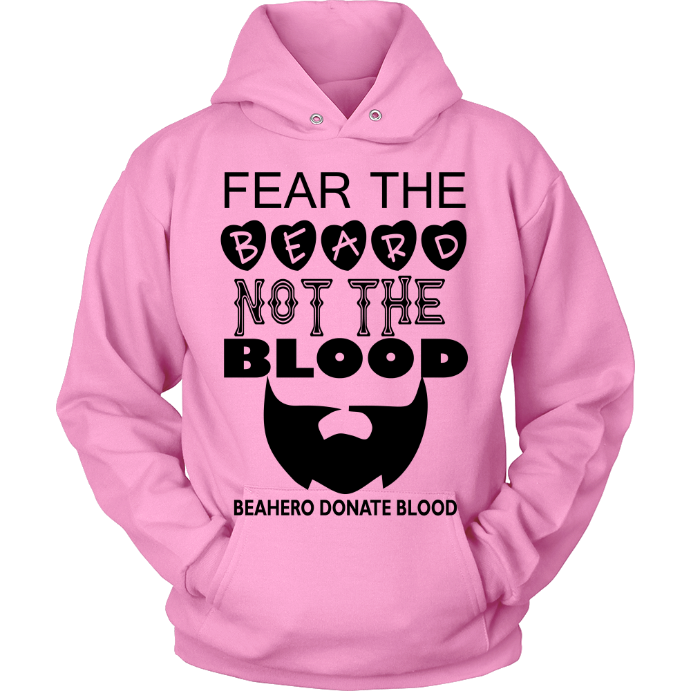 FunkyShirty Fear The Beard Not The Blood  Creative Design - FunkyShirty