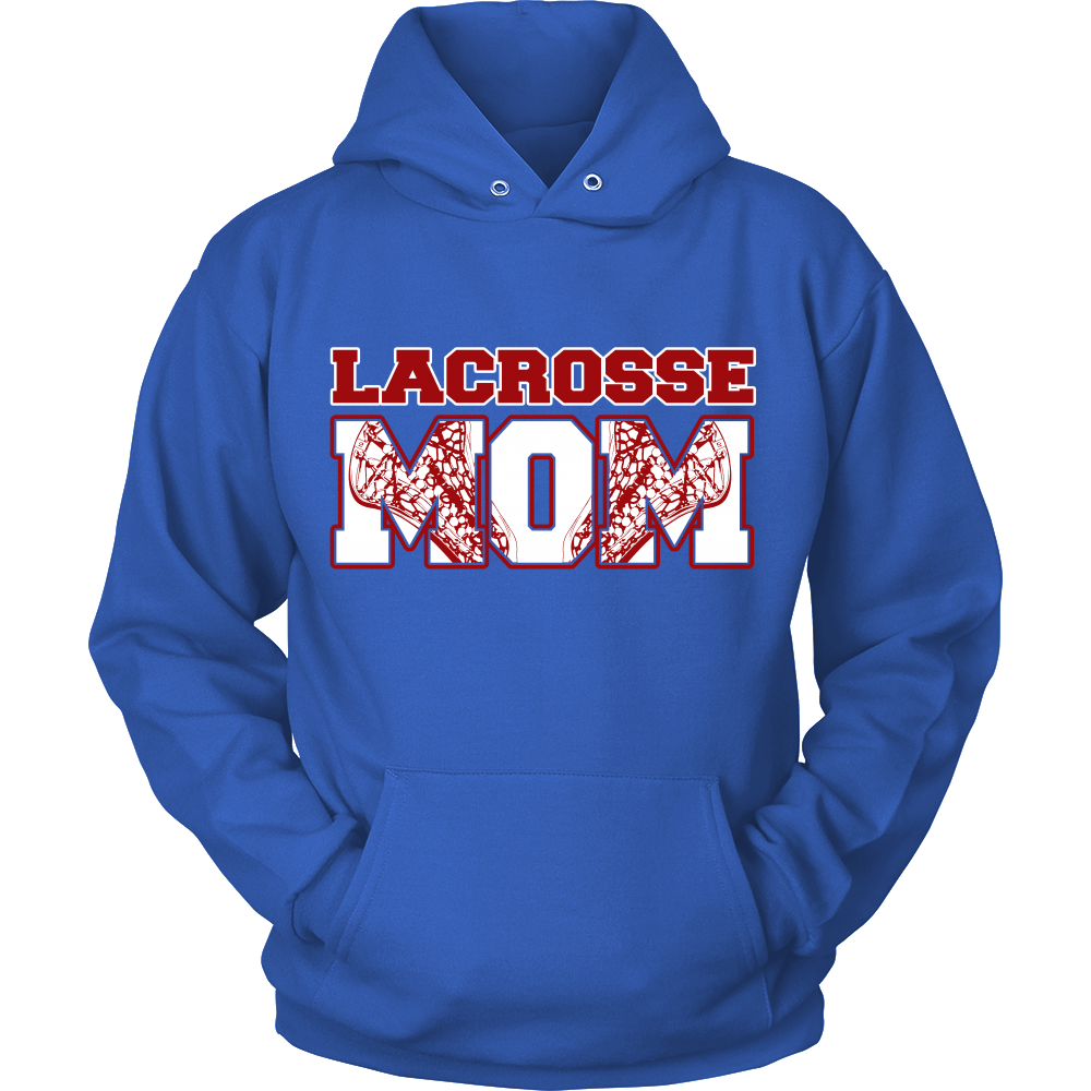 FunkyShirty Lacrosse MOm  Creative Design - FunkyShirty