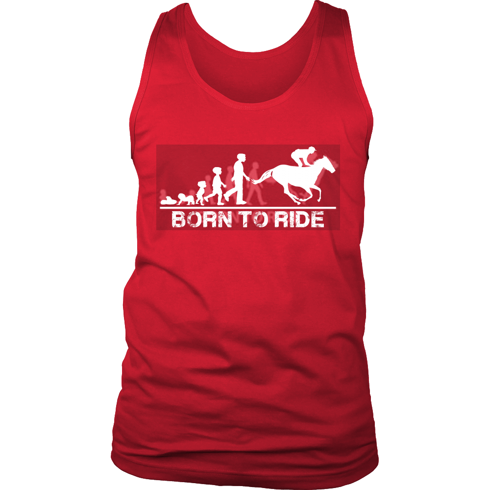 FunkyShirty Born to Ride (Men)  Creative Design - FunkyShirty