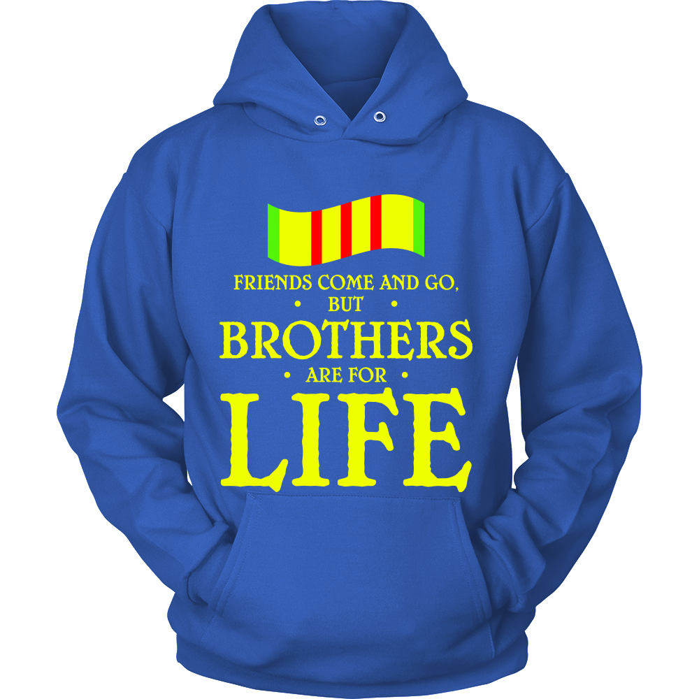 FunkyShirty Friends come and Go but Brothers are for Life (Men)  Creative Design - FunkyShirty