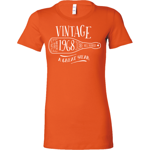 FunkyShirty Vintage 1968 (Womens)  Vintage 1960s - FunkyShirty