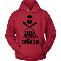FunkyShirty Baseball Mom Knows How to Smash  Creative Design - FunkyShirty