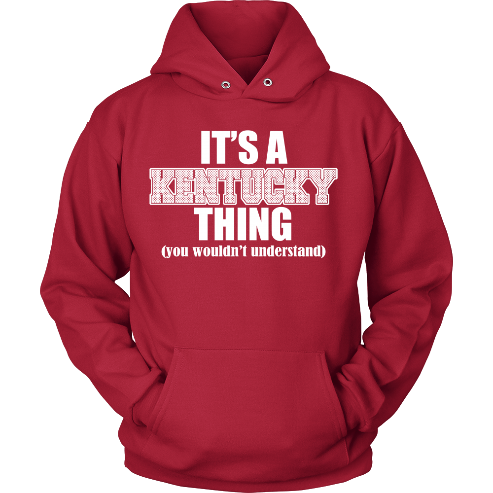 FunkyShirty Its a Kentucky thing (you wouldn't understand) (Men)  Creative Design - FunkyShirty