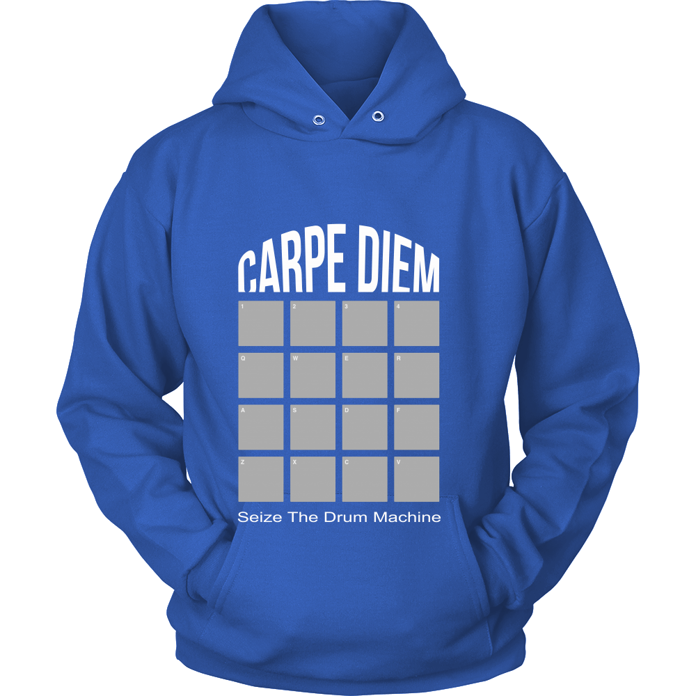 FunkyShirty Carpie Diem Sieze the drum Machine (Women)  Creative Design - FunkyShirty