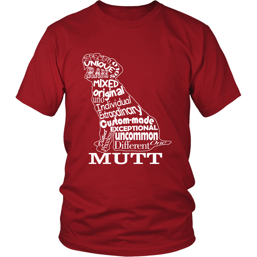 FunkyShirty Dog Mutt (Men)  Creative Design - FunkyShirty
