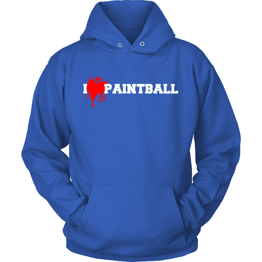 FunkyShirty I Love Paintball (Women)  Creative Design - FunkyShirty