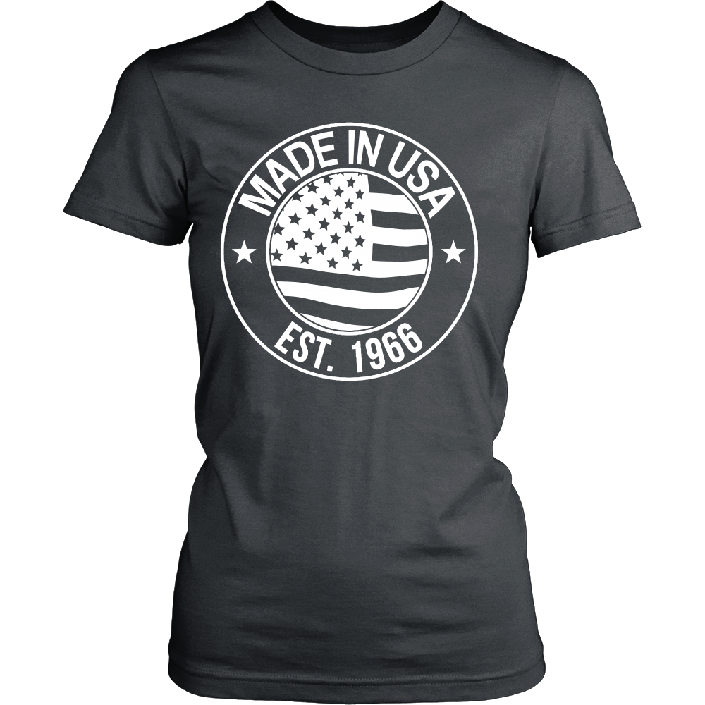 FunkyShirty Made in USA EST.1966 (Women)  Creative Design - FunkyShirty