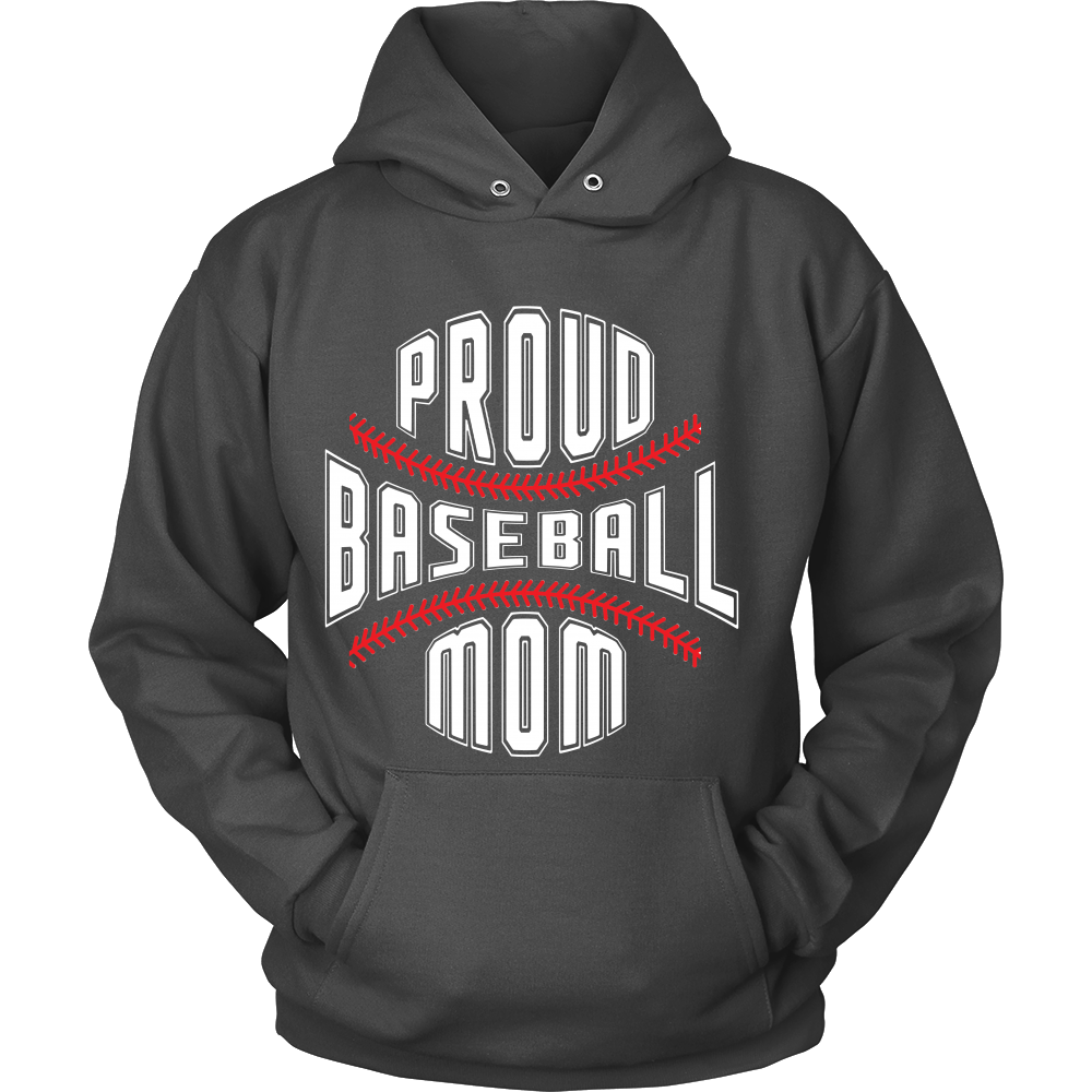 FunkyShirty Proud Baseball Mom  Creative Design - FunkyShirty