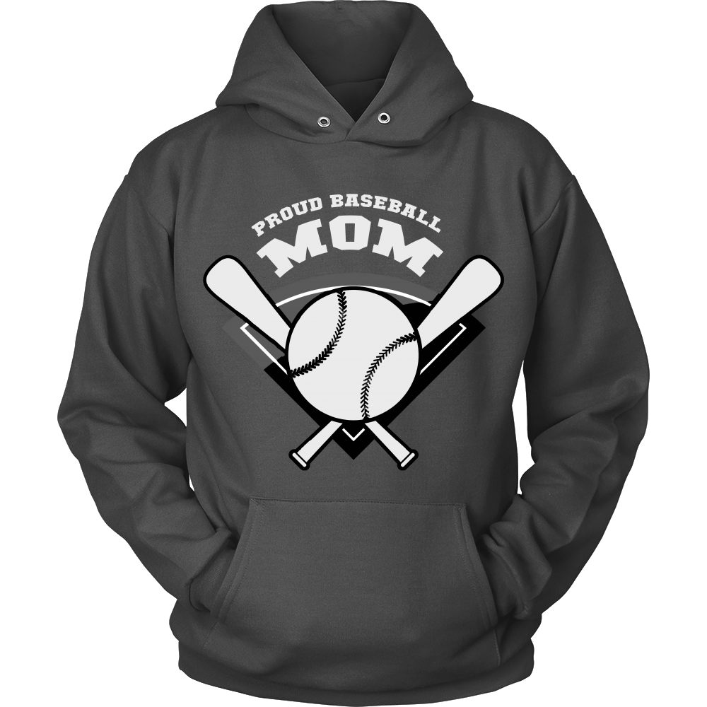FunkyShirty Proud Baseball Mom 4  Creative Design - FunkyShirty