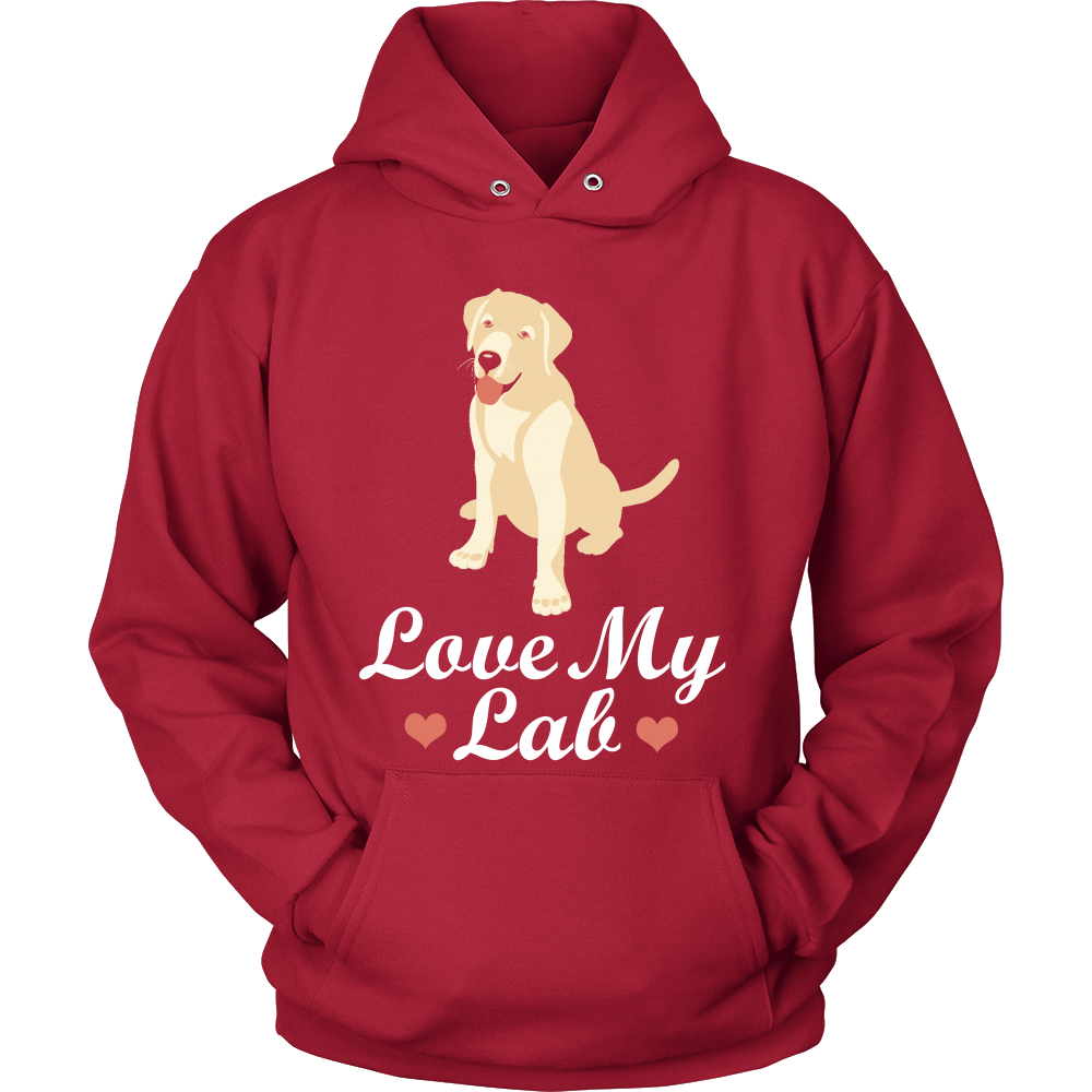 FunkyShirty LOve my Lab (Men)  Creative Design - FunkyShirty