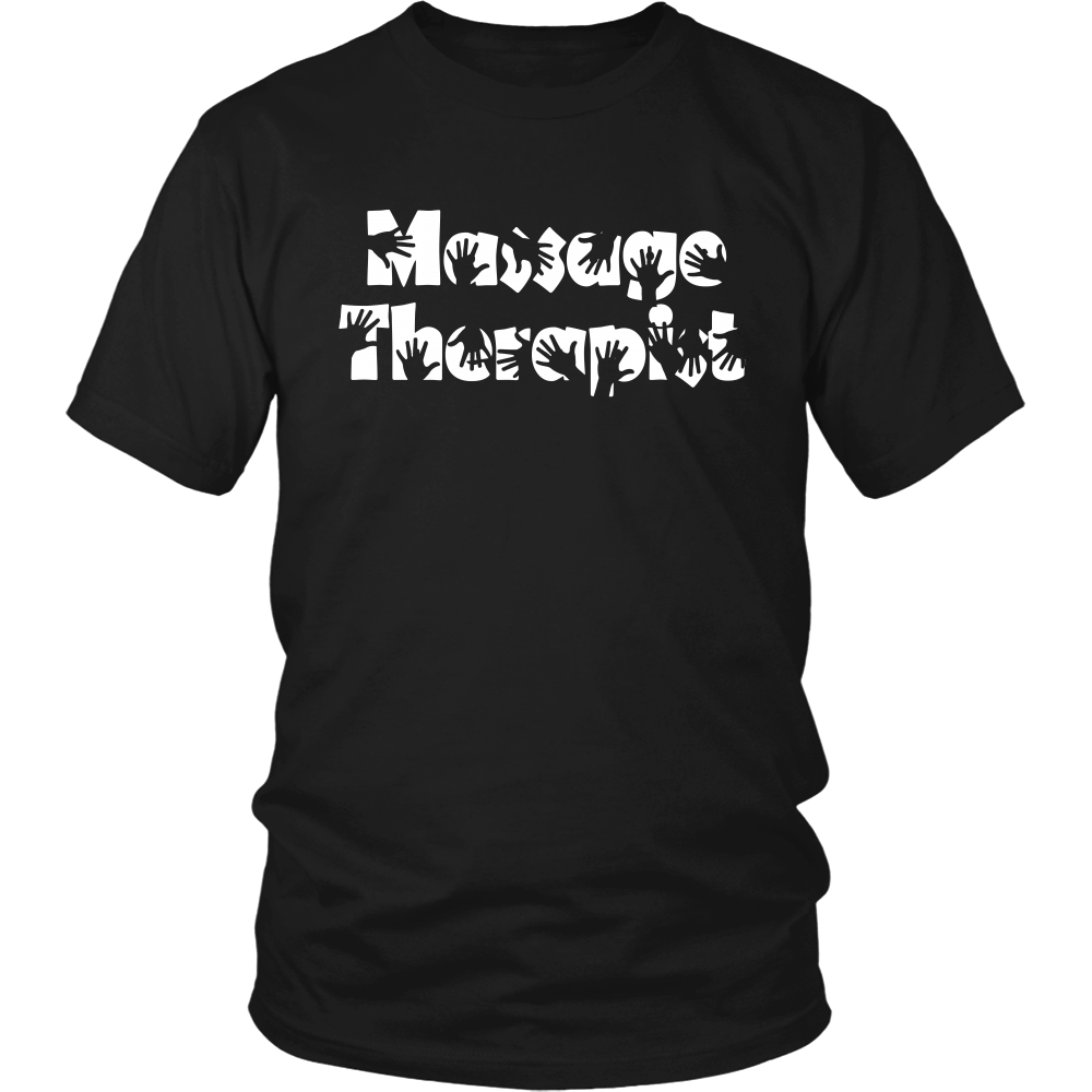 FunkyShirty Massage Therapist (Men)  Creative Design - FunkyShirty