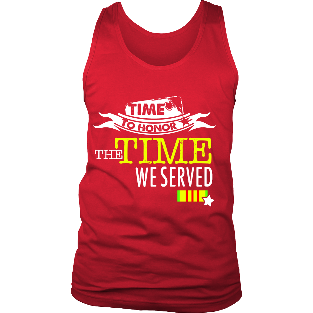 FunkyShirty Time to Honor the Time we Served (Men)  Creative Design - FunkyShirty