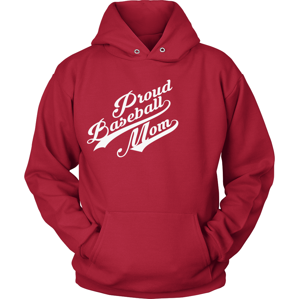 FunkyShirty Proud Baseball Mom 2  Creative Design - FunkyShirty