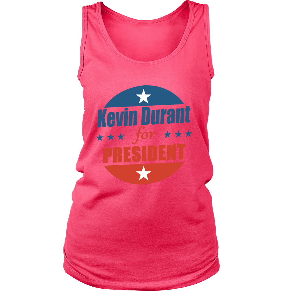 FunkyShirty Kevin Durant for President (Women)  Creative Design - FunkyShirty
