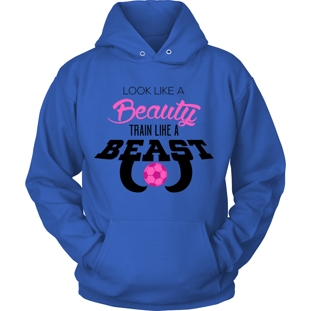 FunkyShirty Look Like a Beauty Train Like a Beast (Men)  Creative Design - FunkyShirty