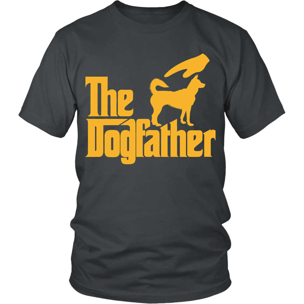 FunkyShirty The Dogfather (Men)  Creative Design - FunkyShirty