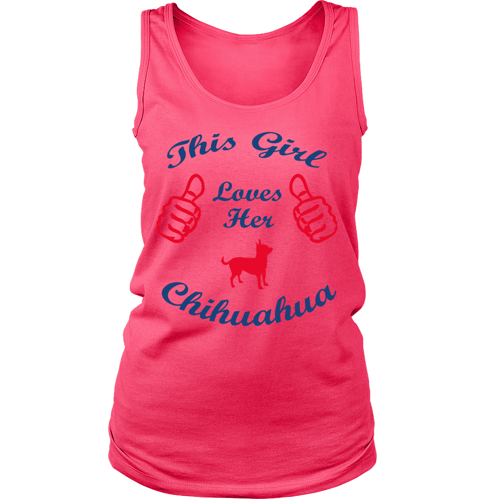 FunkyShirty This Girl Loves Her Chihuahuas  Creative Design - FunkyShirty